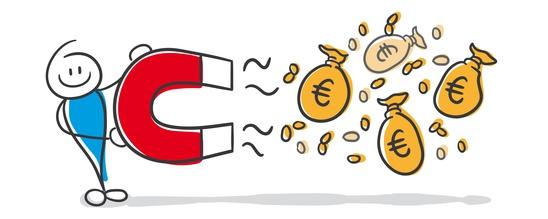Geld anziehen wie ein Magnet
